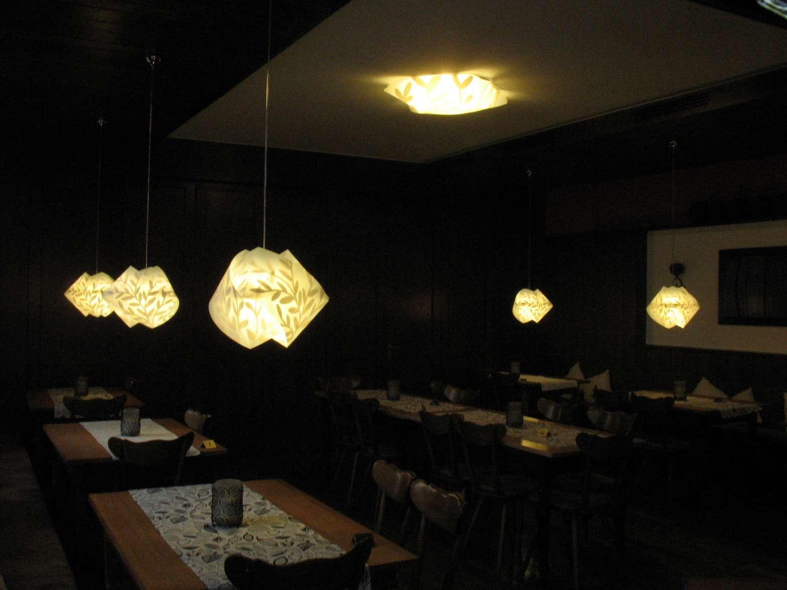 Gasthaus Kandelblick Leuchten