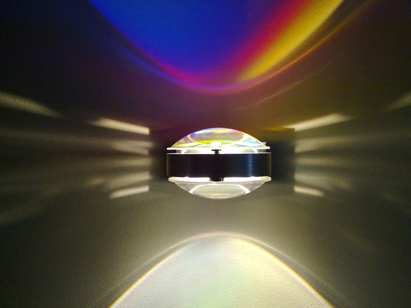Ausgefallene Lichtplanung von VDV in Freiburg