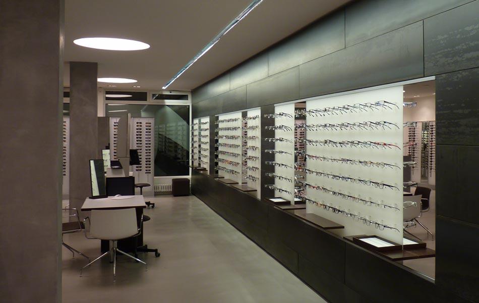 Ausstellungsraum Lichtdesign Freiburg